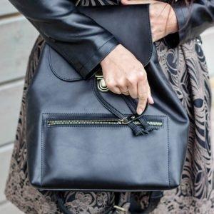 Солидный черный рюкзак BNZ-4466