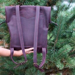 Удобный фиолетовый рюкзак BNZ-1605 219455