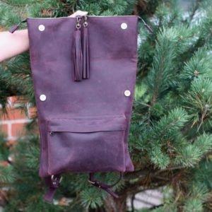 Удобный фиолетовый рюкзак BNZ-1605 219454