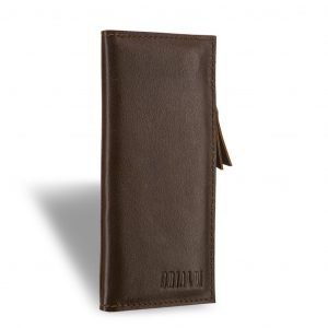 Деловой коричневый мужской портмоне клатч BRL-8451