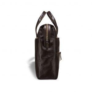 Вместительная коричневая мужская классическая сумка BRL-3209
