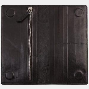 Деловой черный портмоне с росписью ATS-1311 216859