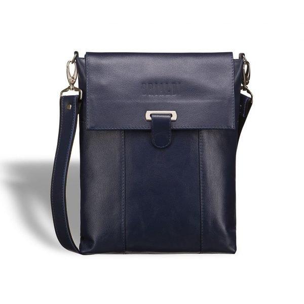 Деловая синяя мужская сумка BRL-7247