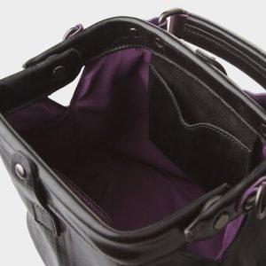 Вместительная черная сумка с росписью ATS-1200 216984