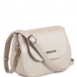 Удобная бежевая женская сумка FBR-2201