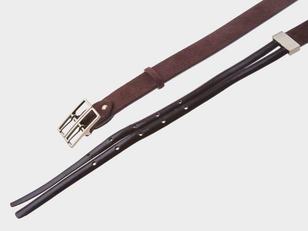 Модный коричневый женский модельный ремень ATS-399
