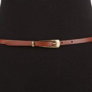 Неповторимый светло-коричневый женский модельный ремень ATS-626 217259