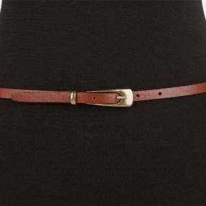 Неповторимый светло-коричневый женский модельный ремень ATS-627 217255