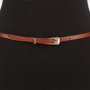 Деловой светло-коричневый женский модельный ремень ATS-655 217244