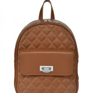 Вместительный темно-оранжевый женский рюкзак FBR-2326