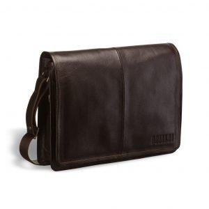 Удобная коричневая мужская сумка через плечо BRL-3172