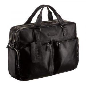 Деловая черная сумка для командировок BRL-777