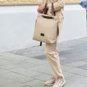 Стильная бежевая женская сумка FBR-2669 219089
