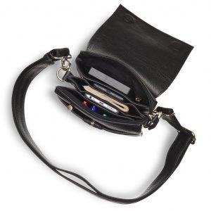 Деловая черная мужская сумка через плечо BRL-19874 221662