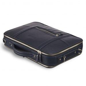 Уникальная синяя мужская сумка трансформер через плечо BRL-23146 221889