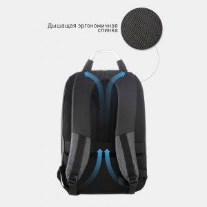 Уникальный черный рюкзак из пвх ATS-3819 211055