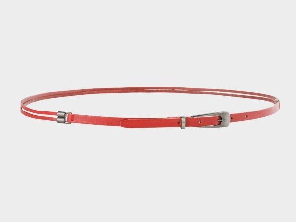 Стильный красный женский модельный ремень ATS-657