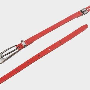 Стильный красный женский модельный ремень ATS-657 217239