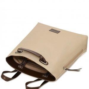Стильная бежевая женская сумка FBR-2669 219094