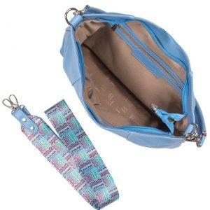 Модная голубая женская сумка FBR-1239 217970