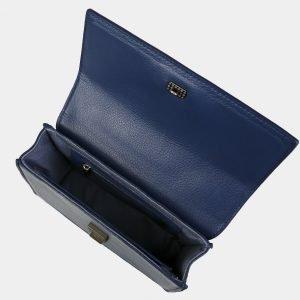 Солидный синий женский клатч ATS-3070 213594