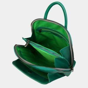 Уникальный зеленый рюкзак с росписью ATS-3088 213556