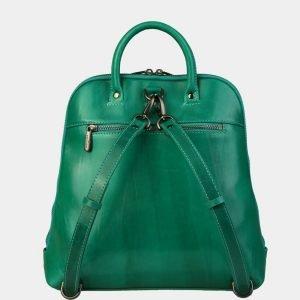 Уникальный зеленый рюкзак с росписью ATS-3088 213555