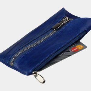 Уникальная голубовато-синяя ключница ATS-3148 213417