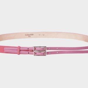 Модный розовый женский модельный ремень ATS-411