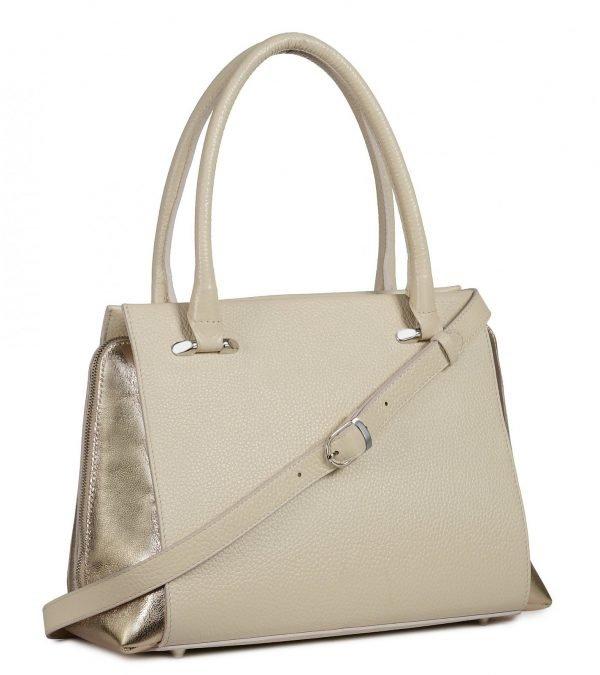 Неповторимая бежевая женская сумка FBR-2053