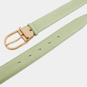 Уникальный зеленый женский модельный ремень ATS-995 217044