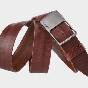 Солидный коричневый женский джинсовый ремень ATS-580