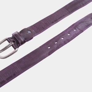 Неповторимый фиолетовый женский джинсовый ремень ATS-1050 217036
