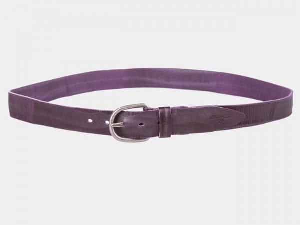 Неповторимый фиолетовый женский джинсовый ремень ATS-1050