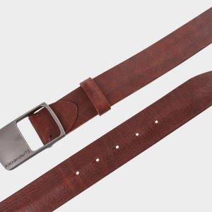 Неповторимый светло-коричневый мужской джинсовый ремень ATS-681 217215