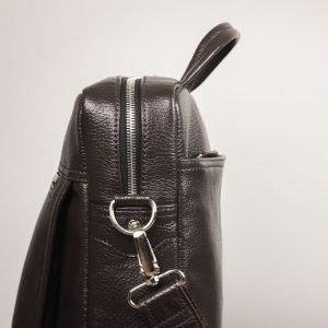 Стильная коричневая мужская сумка через плечо BRL-33395 222978