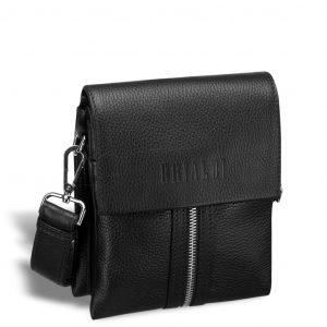 Деловая черная мужская сумка через плечо BRL-19874