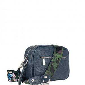 Деловая синяя женская сумка через плечо FBR-2319 218547