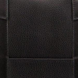 Уникальная черная мужская кожгалантерея BRL-9547