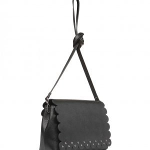 Солидный черный женский клатч FBR-2122