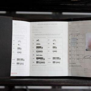 Солидная обложка для паспорта BNZ-3156