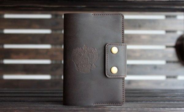 Деловая обложка для паспорта BNZ-3156
