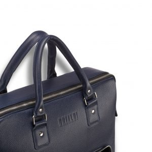 Удобная синяя мужская сумка трансформер через плечо BRL-23168 221932