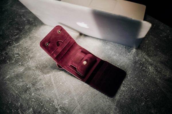 Удобный фиолетовый кошелек BNZ-2904