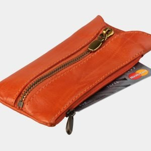 Модная оранжевая ключница ATS-3145