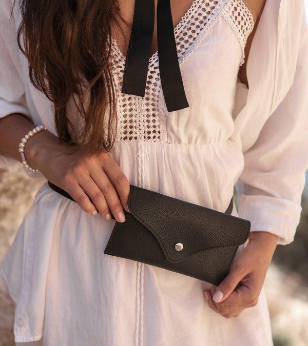 Уникальная черная женская сумка FBR-2655