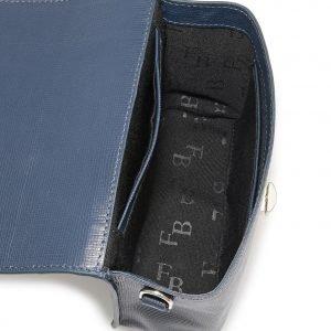 Солидная синяя женская сумка FBR-2338 218590