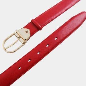 Уникальный красный женский модельный ремень ATS-999 217040