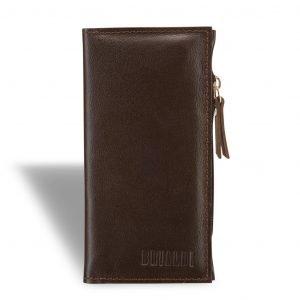 Стильный коричневый мужской портмоне клатч BRL-8451 220728