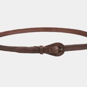 Удобный коричневый женский модельный ремень ATS-1152